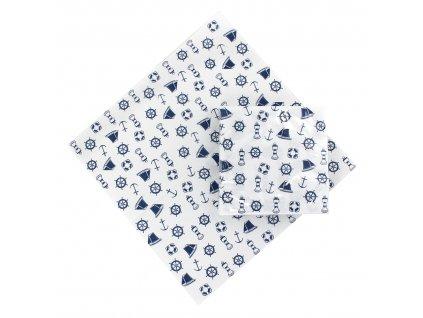 Papírové ubrousky námořnické 20 ks