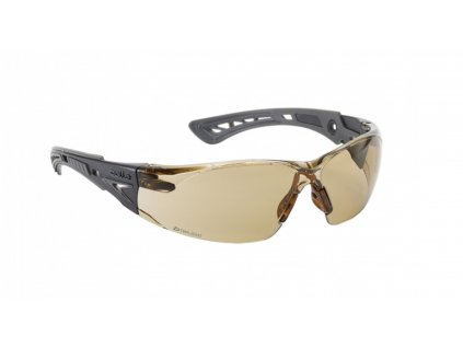Brýle ochranné balistické a sluneční BOLLE RUSH+ twilight hnědá skla
