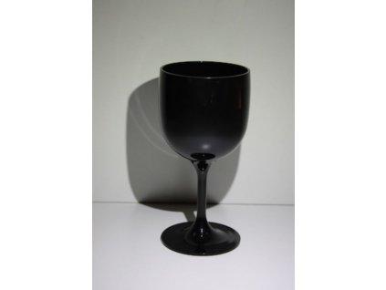 Nerozbitná sklenice - sklenice na víno Wineglass 260 ml černá