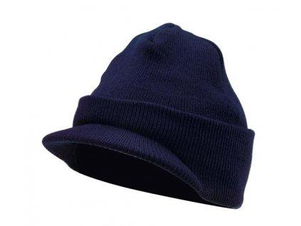 Čepice pletená  US DELUXE JEEP repro WWII námořnická modrá