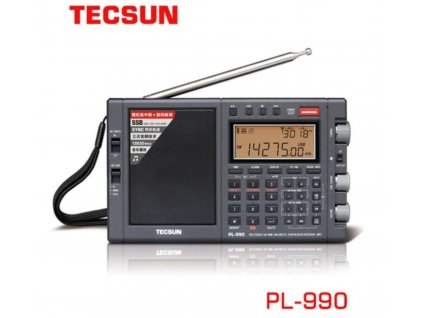 Tecsun PL-990 přehledový přijímač