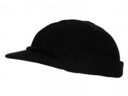 Čepice pletená  US JEEP repro WWII černá