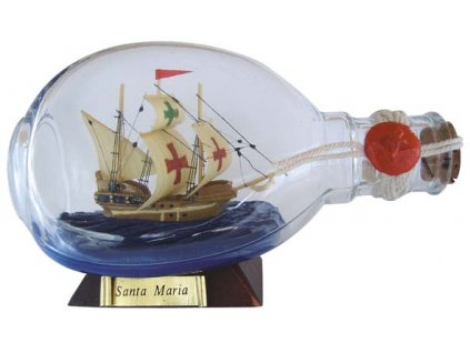 Model lodě v láhvi - Santa Maria 4020