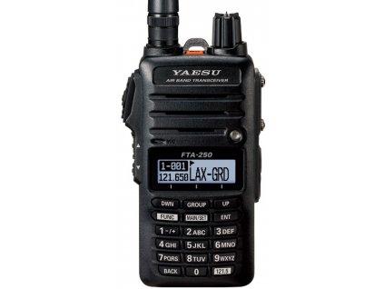 YAESU FTA-250L kompaktní ruční AIRBAND radiostanice (8.33 kHz)