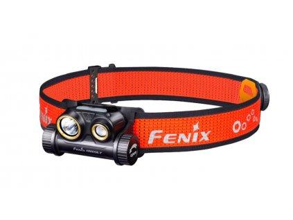 Nabíjecí čelovka Fenix HM65R-T  + karabina s kompasem
