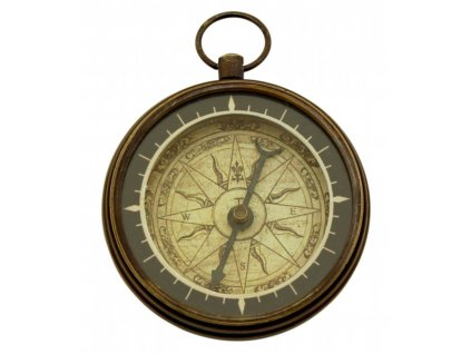 Kompas mosazný ANTIK Ø 5,5 cm 8565
