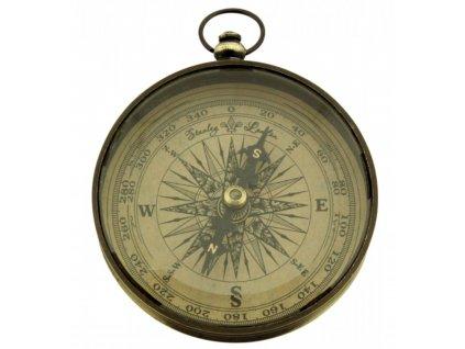 Kompas mosazný ANTIK Ø 7,5 cm 8566