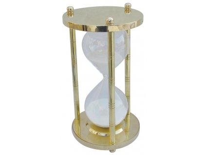 Přesýpací mosazné hodiny 60 min. 22 cm 9187
