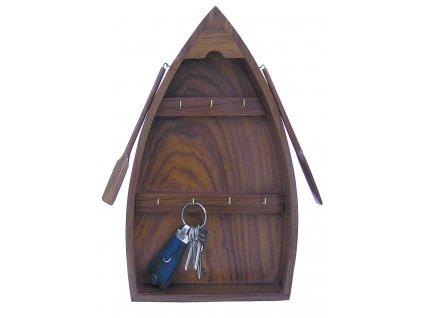 Skříňka na klíče - key box ve tvaru lodě 9009