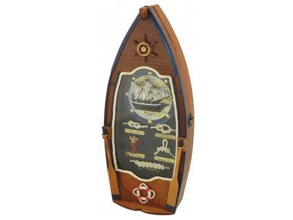 Skříňka na klíče - key box ve tvaru lodě 5520