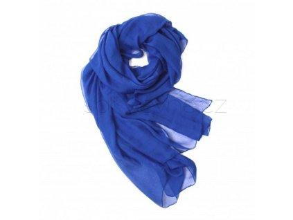 Dlouhý šál přes plavky modrý PAREO 2D1-121419