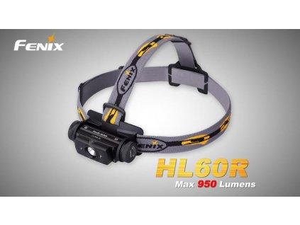 Nabíjecí čelovka Fenix HL60R  + bílý plecháček + doprava zdarma + akumulátor Fenix 18650 2600 mAh