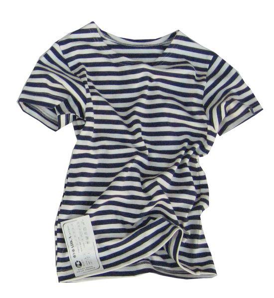 OEM Námořnické triko dětské krátký rukáv Velikost: 100