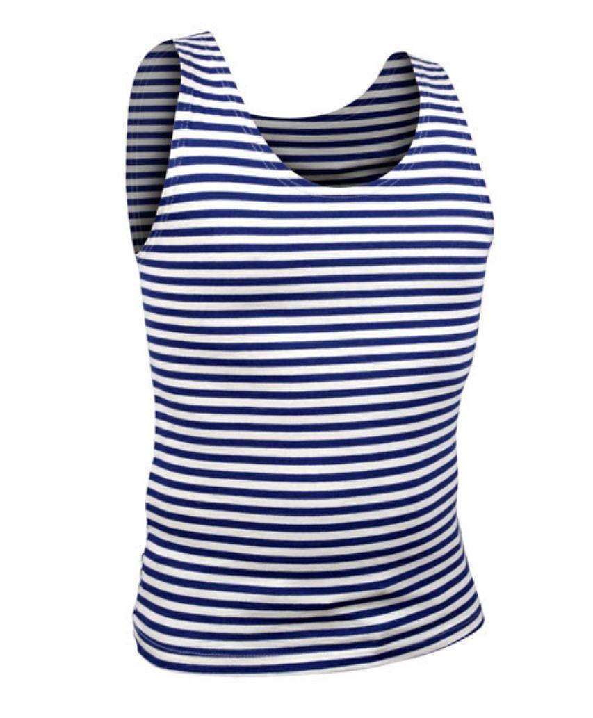 OEM Námořnické pruhované tílko tmavě modré originální Barva: Tmavě Modrá, Velikost: M