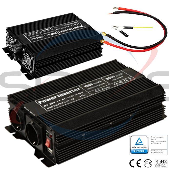 OEM Měnič 24V/230V 1500W (3000W)