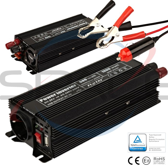 OEM Měnič 24V/230V 600W (1200W)