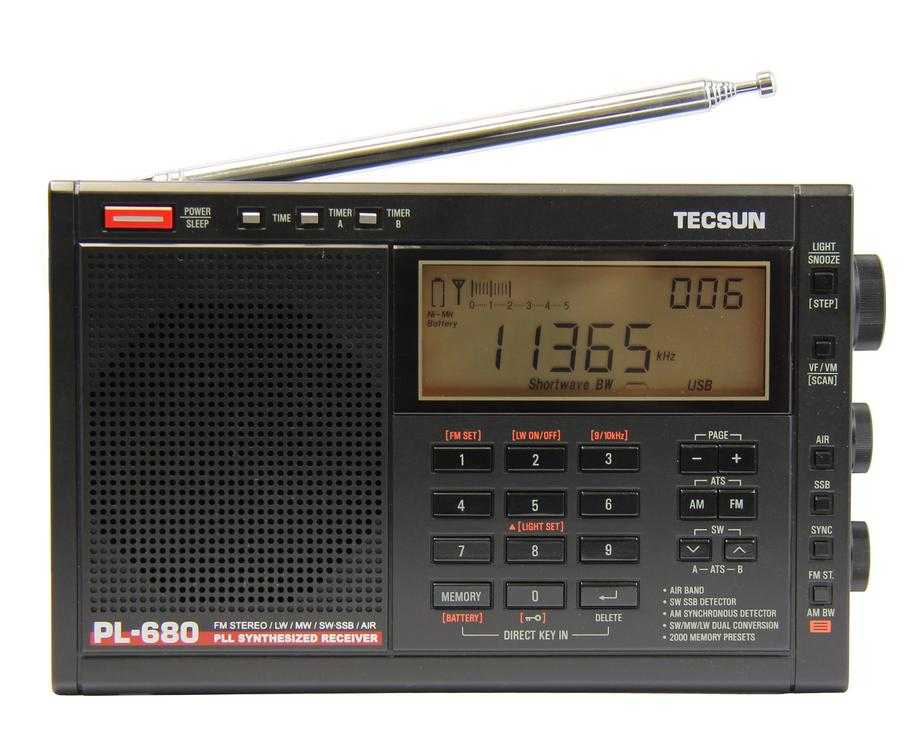 Tecsun PL-680 + doprava zdarma