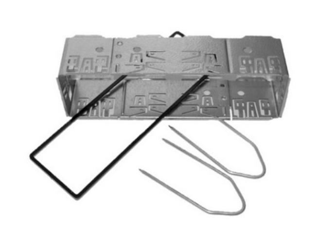 OEM DIN rámeček kovový