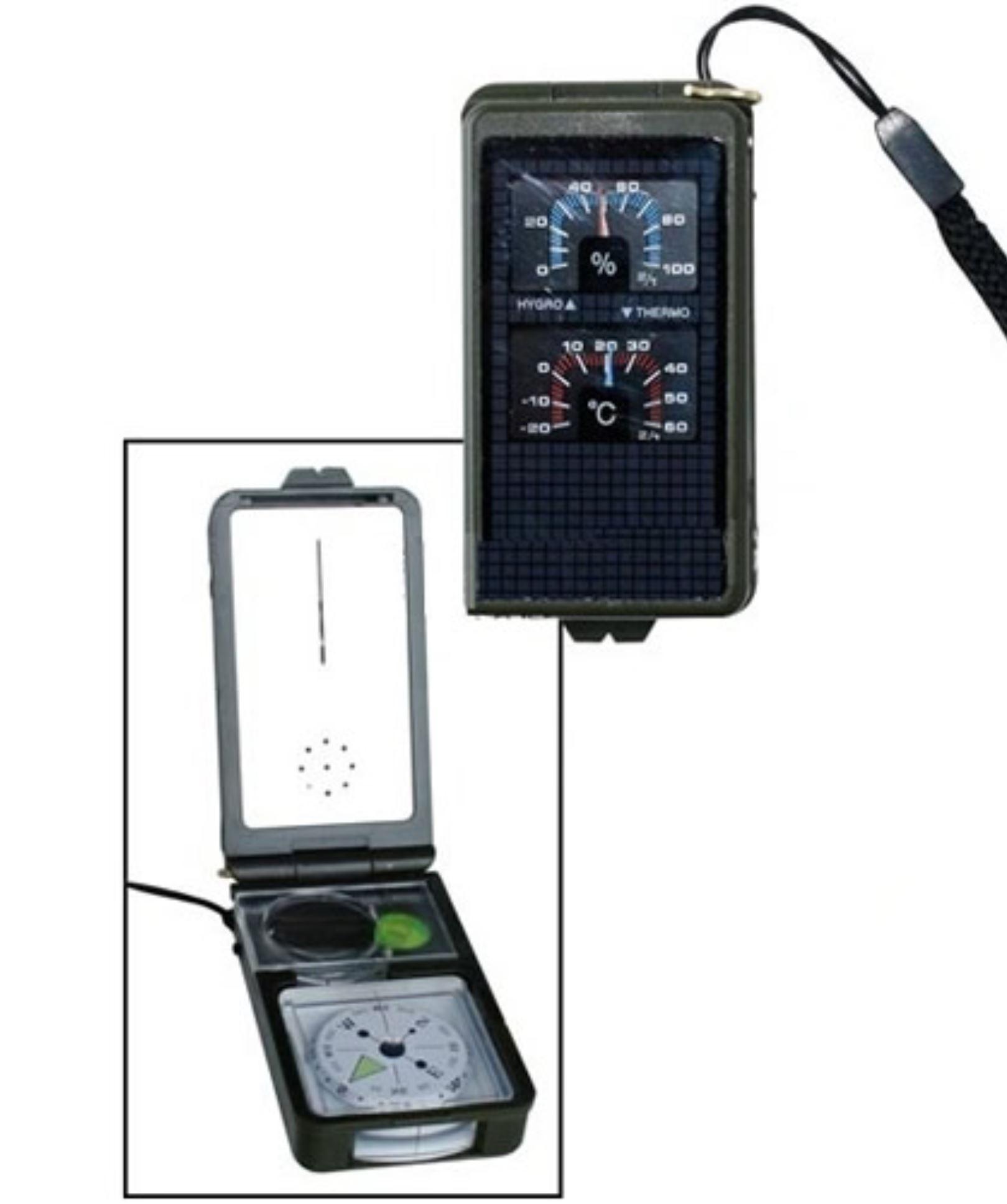 MIL-TEC Kompas multifunkční 10 funkcí