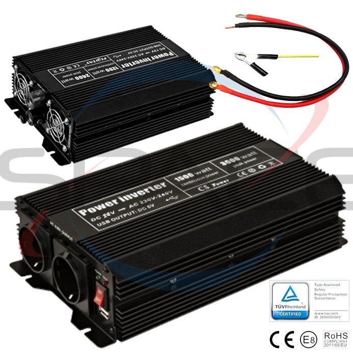 OEM Měnič 24V/230V 1200W (2400W)