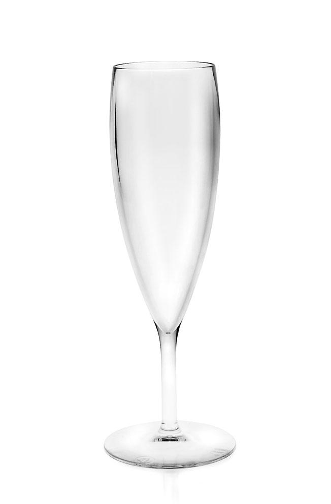 MATOS PLAS SA Nerozbitná sklenice - Flute Big 16 cl