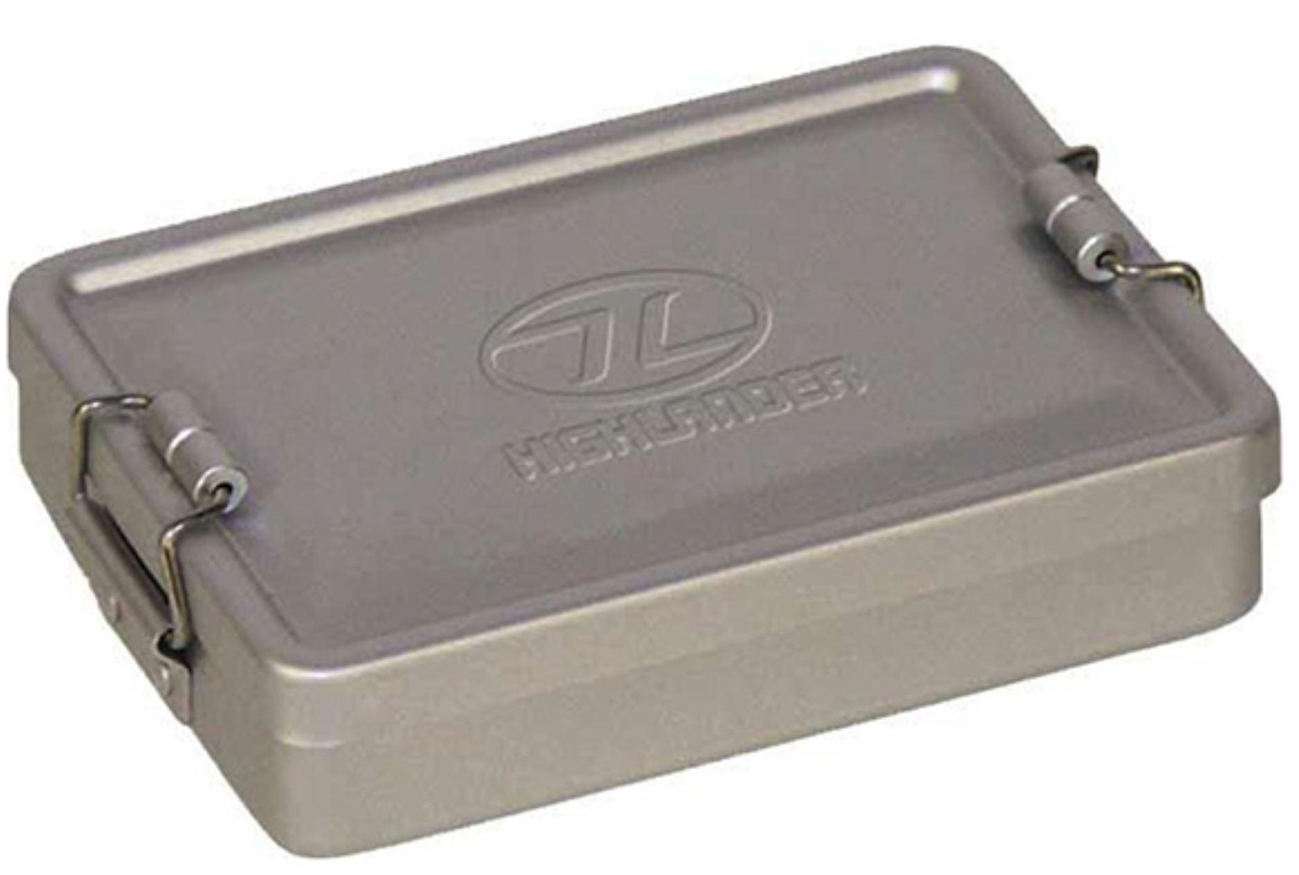 MFH Box vodotěsný hliníkový STŘÍBRNÝ 140x95x35 mm