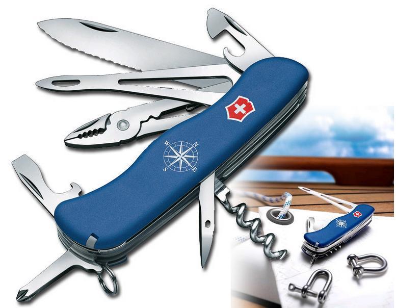 VICTORINOX Nůž kapesní námořnický SKIPPER MODRÝ
