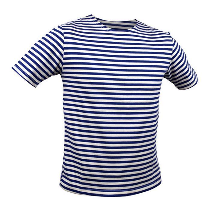 OEM Námořnické triko krátký rukáv Barva: Tmavě Modrá, Velikost: XS