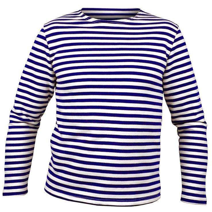 OEM Námořnické triko dlouhý rukáv Barva: Tmavě Modrá, Velikost: XS