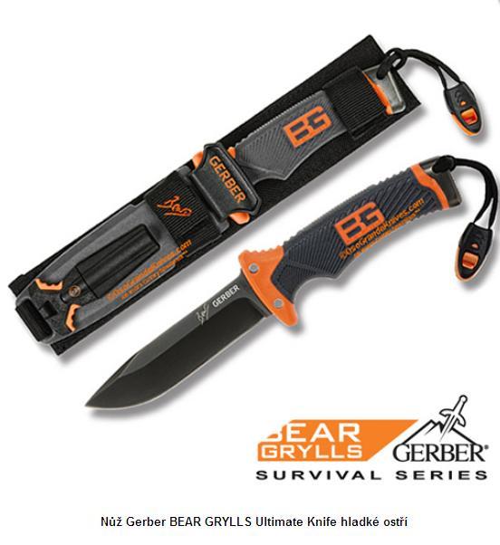 Gerber Bear Grylls Ultimate Knife hladké ostří