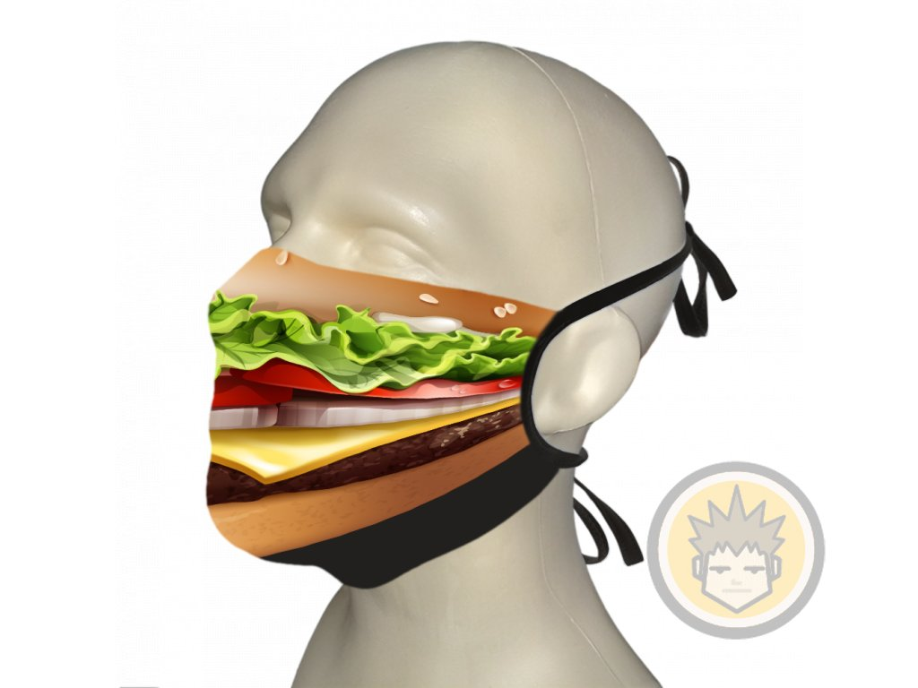 face masks hamburger