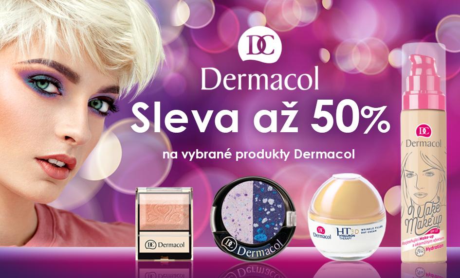Vybrané produkty Dermacol nyní se slevou až 50 %!