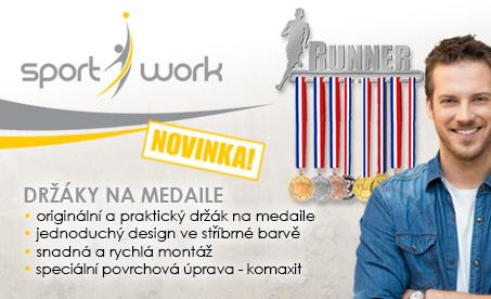 Originální držáky na medaile Sport Work