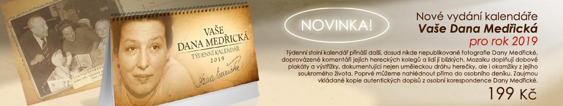 Exkluzivní kalendář Vaše Dana Medřická na rok 2019