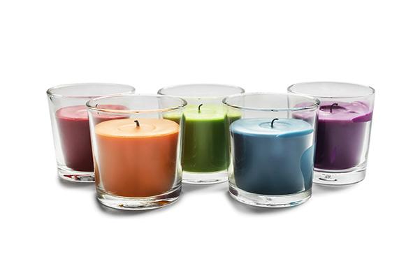 Svíčky a bytové doplňky