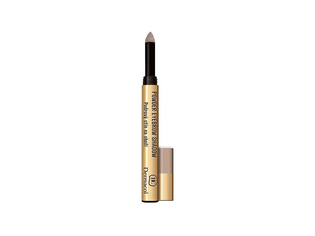 Dermacol Pudrový stín na obočí  (Powder Eyebrow Shadow) 1 g