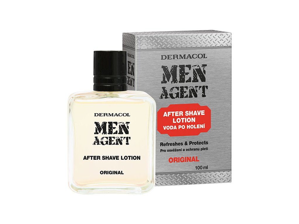 MEN AGENT After Shave ORIGINAL KOMP