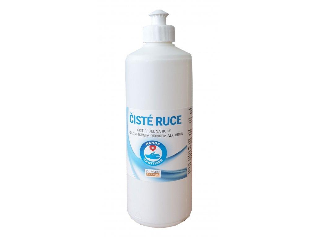 Čistící gel na ruce 500ml