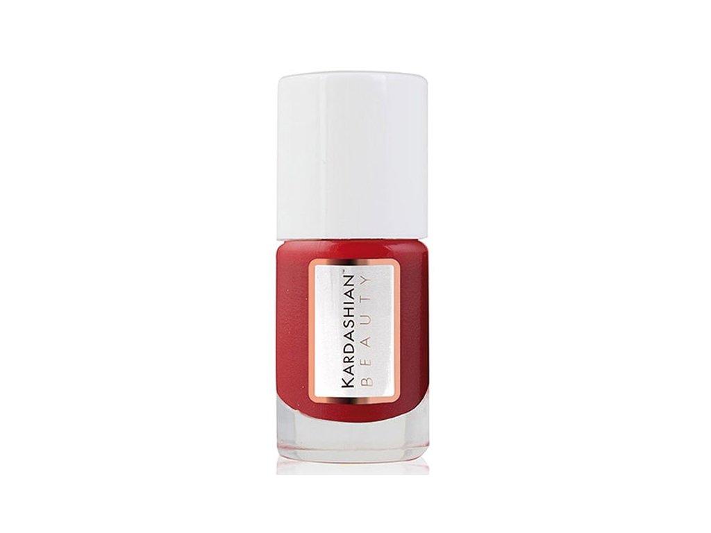 Kardashian Beauty Lak na nehty odstín Blaze - True Red (Nail Lacquer) 11 ml