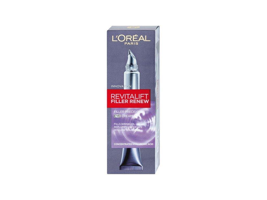 L'Oréal Paris Revitalift Filler Renew oční krém 15 ml