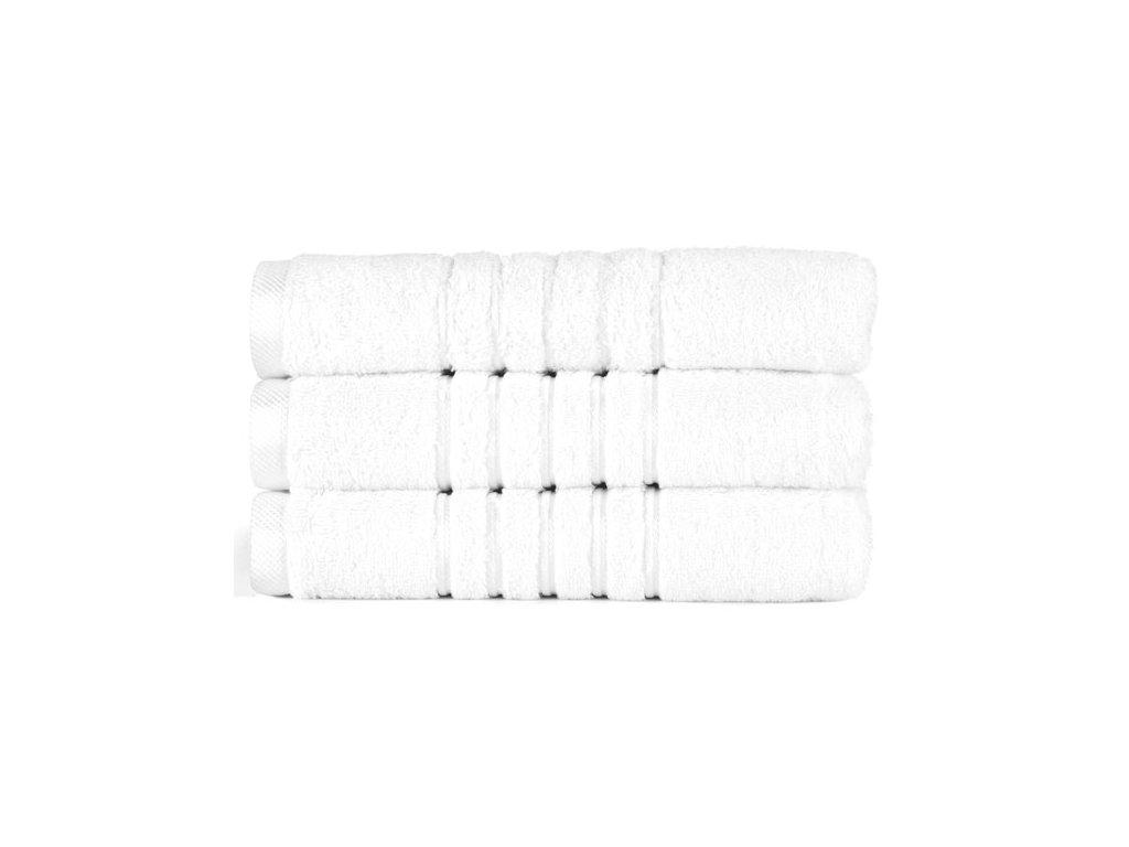 Brilliant froté osuška v bílé barvě (White) 70 x 140 cm
