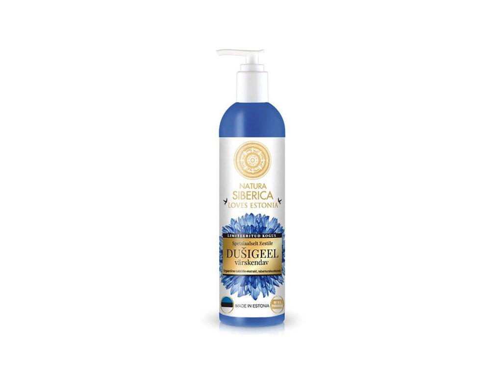 Natura Siberica Loves Estonia Osvěžující sprchový gel 400 ml