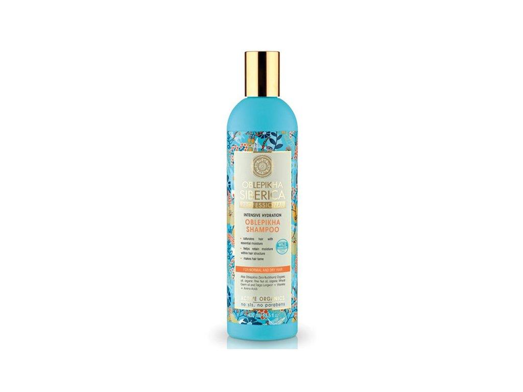 Natura Siberica Professional Rakytníkový šampon pro normální a suché vlasy 400 ml