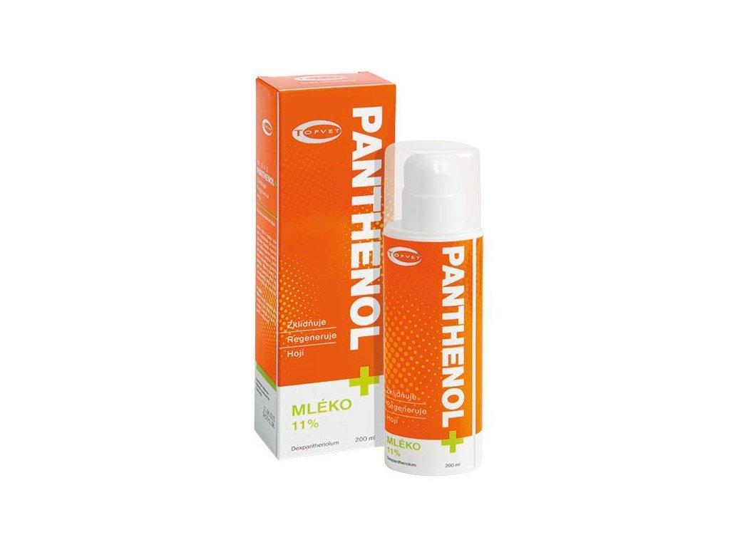 Topvet Panthenol+ mléko 11% 200 ml ex. 12/2018