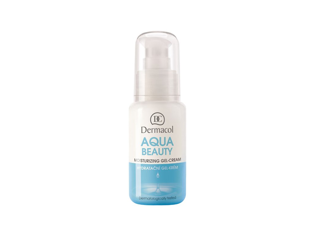 Dermacol Aqua beauty hydratační gel-krém 50 ml