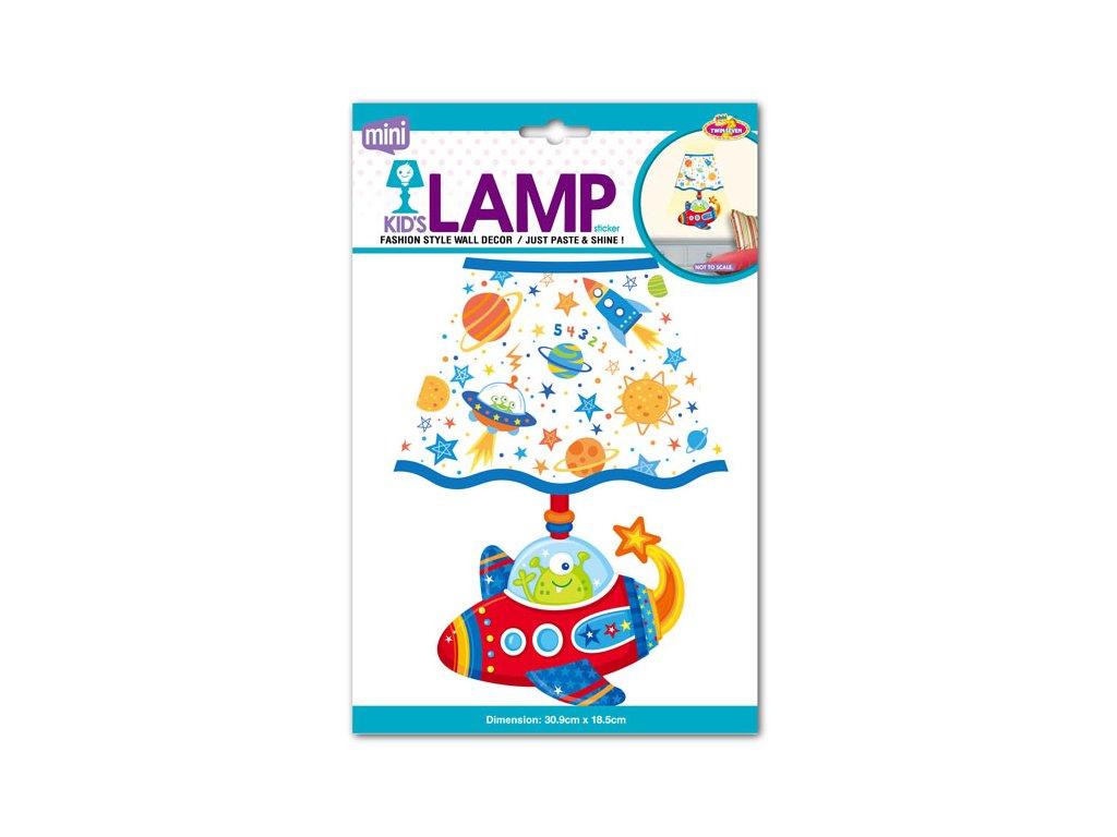 EP02289 Dětská lampička na zeď, letadlo 8595582222893