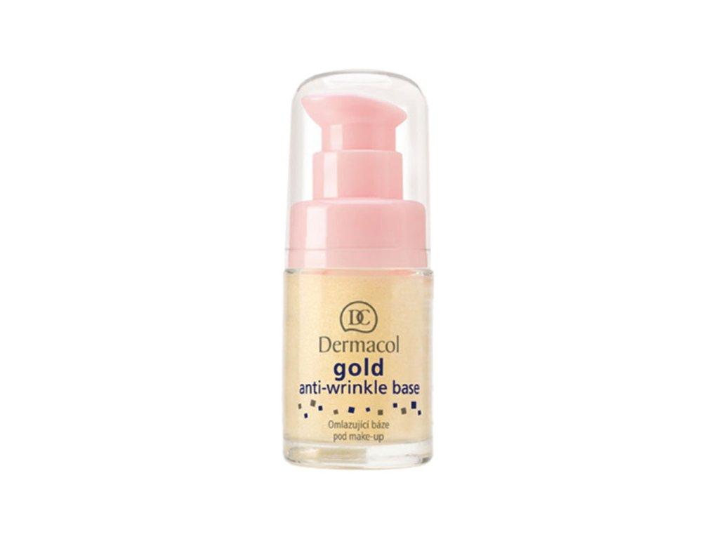 Dermacol Omlazující báze pod make-up se zlatem (Gold Anti-Wrinkle Make-Up Base) 15 ml