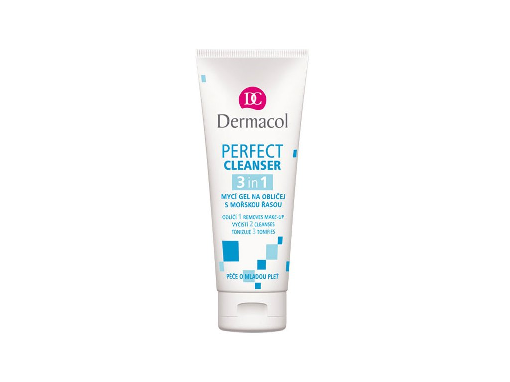 Dermacol Perfect Cleanser 3v1 mycí gel na obličej 100 ml
