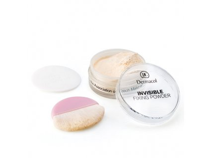 Dermacol Transparentní fixační pudr (Invisible Fixing Powder) 13,5 g (Odstín Natural)