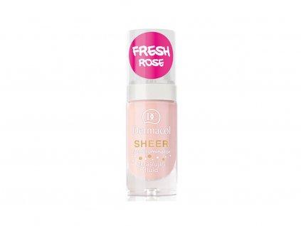 Dermacol Zkrášlující rozjasňující hydratační fluid (Sheer Face Illuminator Day Light) 15 ml (Odstín Sun Bronze)